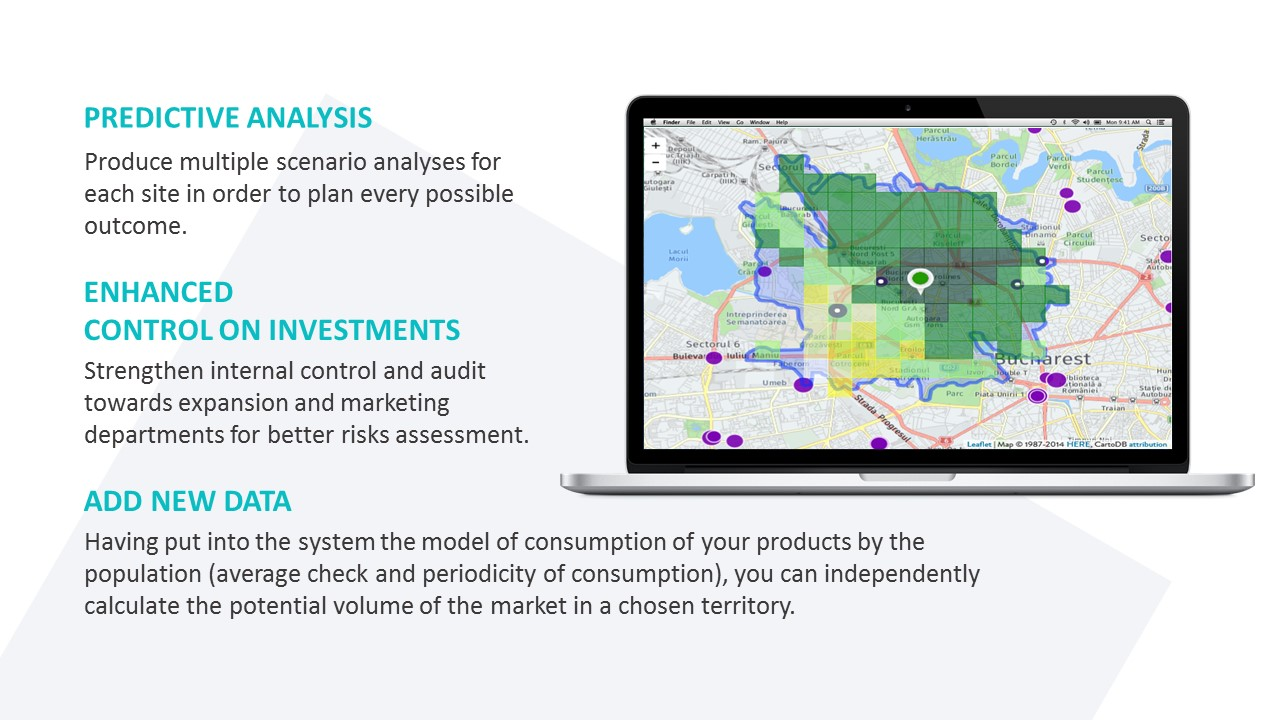 Retail Expansion in Romania | Geomatrix predictive analytics