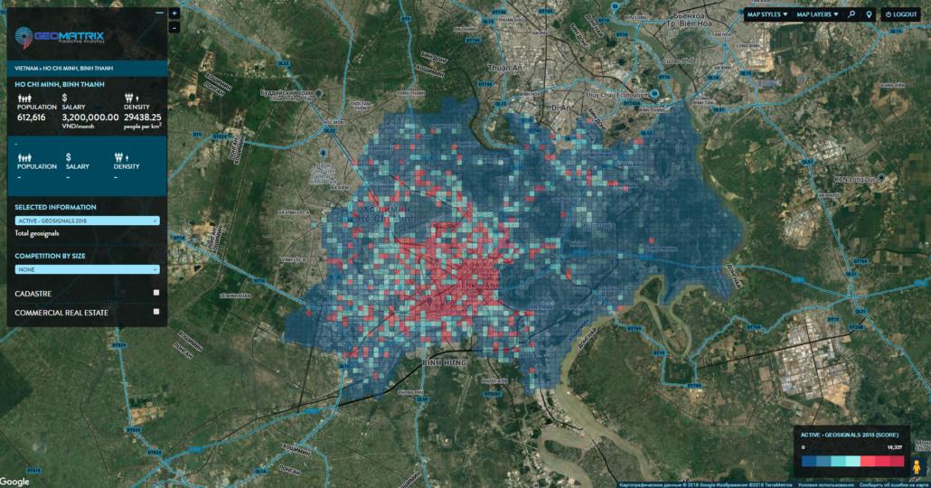 Ho Chi Minh City. Micro-zones. Geosignals.